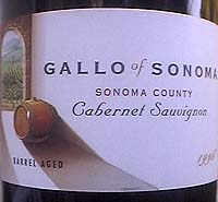 Gallo wine