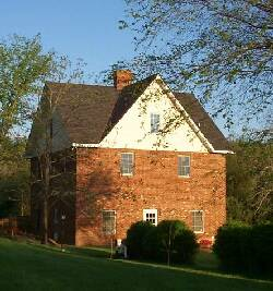 The Baldwins' guest house