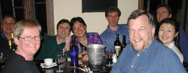 Group at Barmuda in Sydney