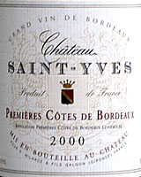 Ch. Saint-Yves