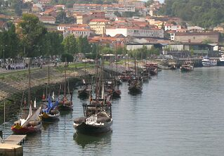 Traditional Port boats