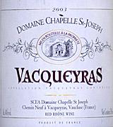 Domaine Chapelle St.-Joseph
