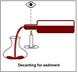 how to avoid sediment in wine making