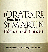Domaine Oratoire St. Martin