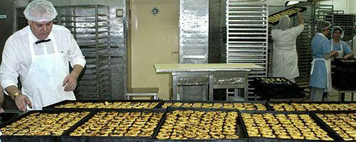 Baking Pasteis de Belem