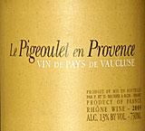 Pigeoulet en Provence