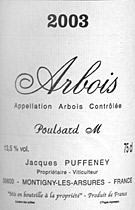 Puffeney Arbois Poulsard