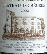 Chateau de Segries