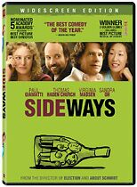 Sideways DVD box