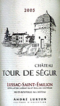 Chateau Tour de Segur