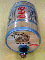 Red Truck mini-barrel