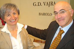 Milena and Aldo Vajra