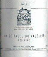 Vin de Table du Vaucluse