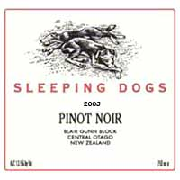 Sleeping Dog Pinot Noir